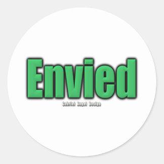 Envied Classic Round Sticker