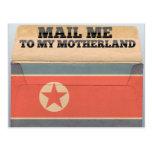 Envíeme a Corea del Norte Tarjetas Postales
