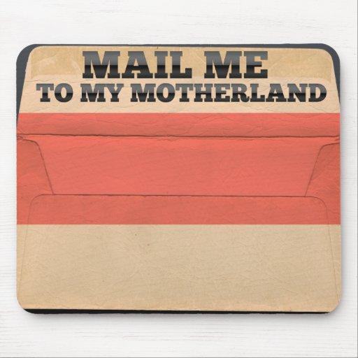 Envíeme a Indonesia Alfombrillas De Ratón