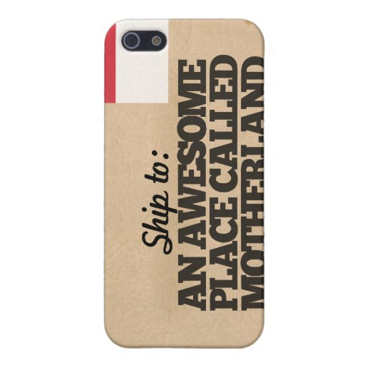 Envíeme a Indonesia iPhone 5 Carcasa