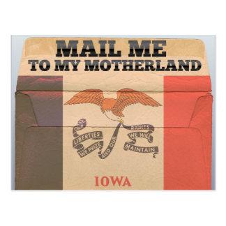 Envíeme a Iowa Tarjetas Postales