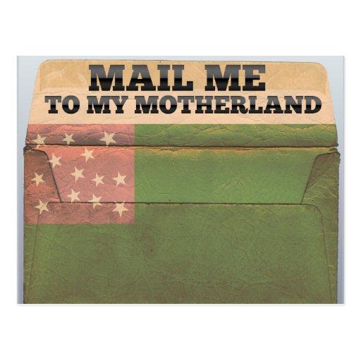 Envíeme a la república de Vermont Postales