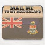 Envíeme a las Islas Caimán Alfombrillas De Ratón