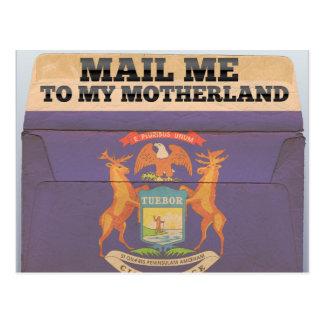 Envíeme a Michigan Tarjetas Postales