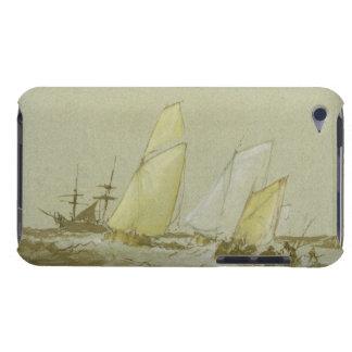 Envío, c.1828-30 (pluma, cepillo y tinta marrón, b barely there iPod fundas