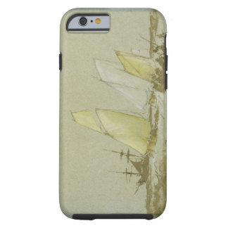 Envío, c.1828-30 (pluma, cepillo y tinta marrón, funda resistente iPhone 6