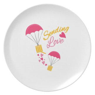 Envío de amor platos de comidas
