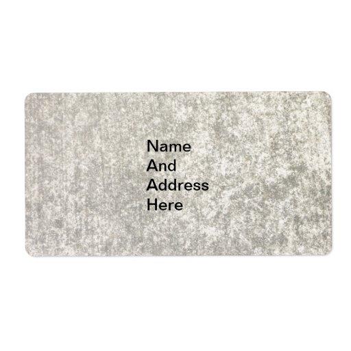 Envío de la pared/etiqueta de dirección modernos