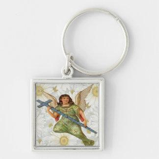 Envío de llavero del ángel del mensaje