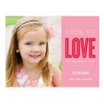 Envío de nuestra postal del el día de San Valentín