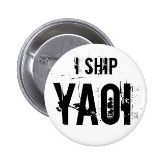 Envío el botón de Yaoi Pin Redondo De 2 Pulgadas