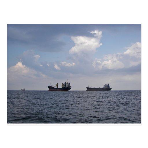 Envío en el Mar Negro Tarjeta Postal