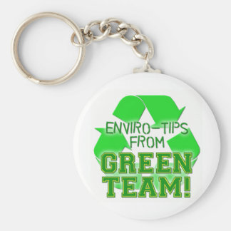 ENVIOR TIPS FROM GREEN TEAM KEYCHAIN