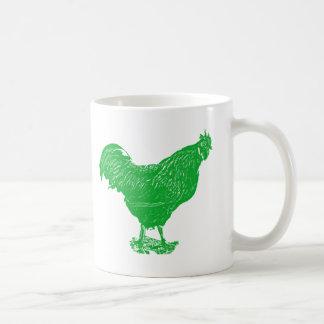 Envious Rooster Classic White Coffee Mug