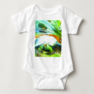 Envious Thoughts Abstract Baby Bodysuit