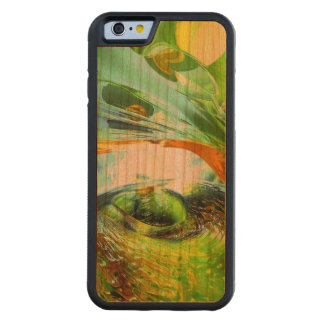 Envious Thoughts Abstract Carved Cherry iPhone 6 Bumper Case