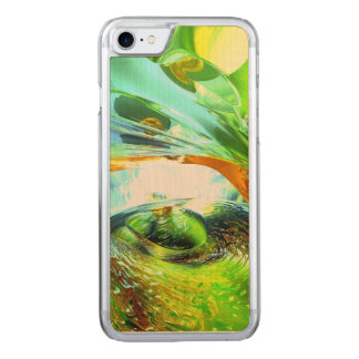 Envious Thoughts Abstract Carved iPhone 8/7 Case