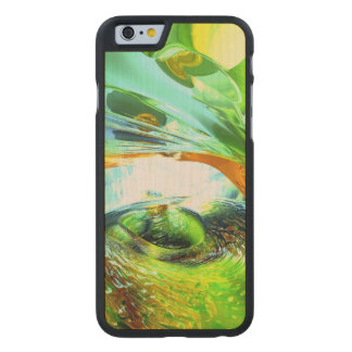 Envious Thoughts Abstract Carved Maple iPhone 6 Case