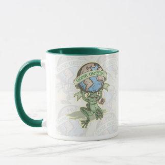 Enviro Frog Gone Green Earthday Gear Mug