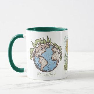 Enviro Frog Plant a Tree  Earth Day Gear Mug