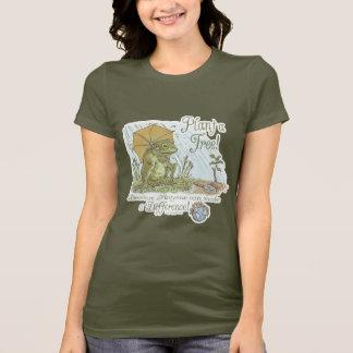 Enviro Frog Plant a Tree  Earth Day Gear T-Shirt