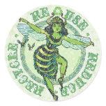 Enviro Green Bee Earth Day Gear Stickers