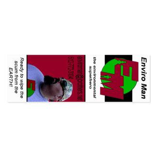 Enviro Man Business Card
