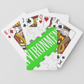 Enviroment Playing Cards