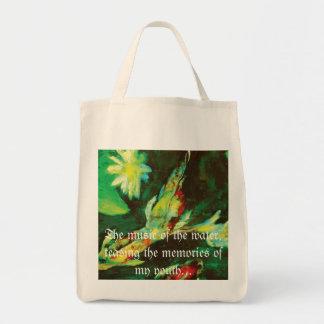 Enviromently correct Koi Tote Tote Bag