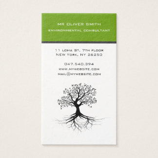 Environment and calling card tree