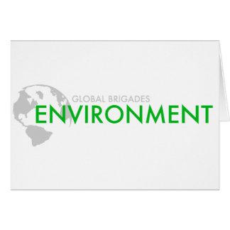 Environment Brigade Card