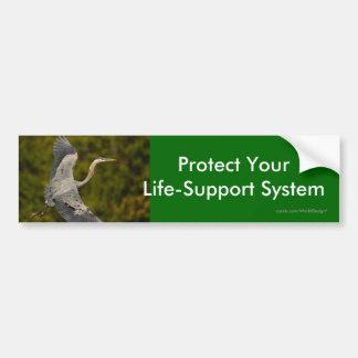 environment bumper sticker
