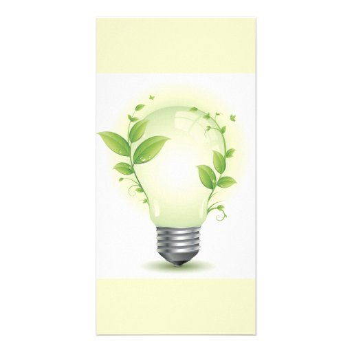 Environment Lightbulb3 Picture Card