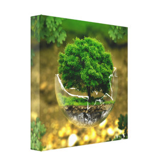 environment protection canvas print