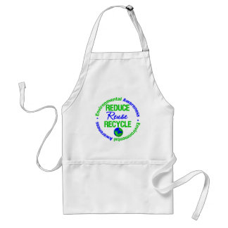 Environment Reduce Reuse Recycle Apron