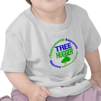 Environment Tree Hugger Tshirts