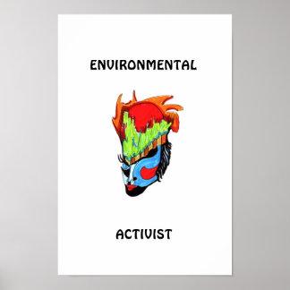 ENVIRONMENTAL ACTIVIST POSTER