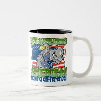 Environmental America Two-Tone Coffee Mug