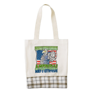 Environmental America Zazzle HEART Tote Bag