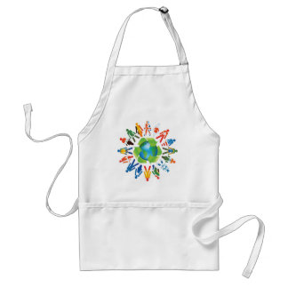 Environmental Awareness Adult Apron