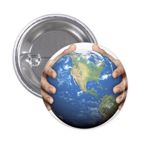 Environmental Awareness Button