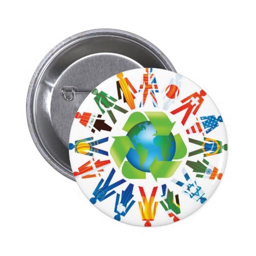 Environmental Awareness Pins
