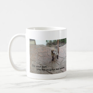 Environmental Awareness - Coatimundi Coffee Mug