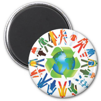 Environmental Awareness Magnet