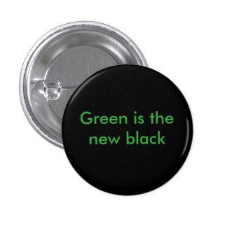 Environmental badge pinback button