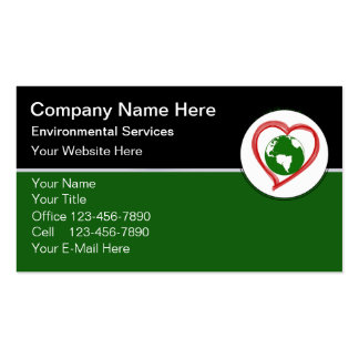 Environmental Business Cards