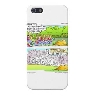 Environmental Concerts Funny Cards & Gifts iPhone SE/5/5s Case