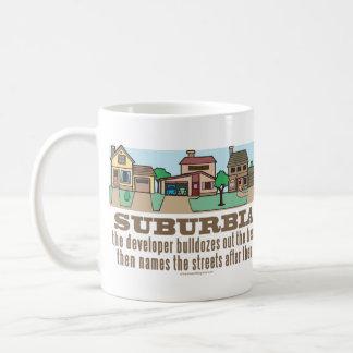 Environmental Curb Suburban Sprawl Coffee Mug