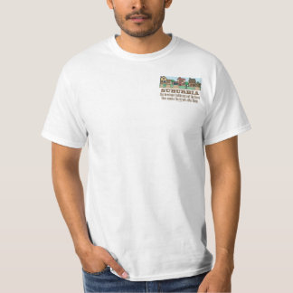 Environmental Curb Suburban Sprawl T-Shirt