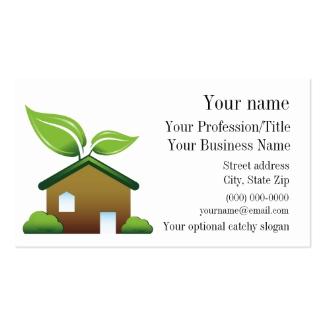 Environmental Design Business Card